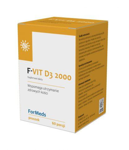 F-VIT D3 2000 –ForMeds, 60porcji