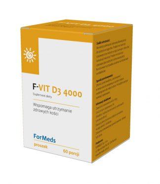F-VIT D3 4000 –ForMeds, 60porcji –ForMeds, 60porcji