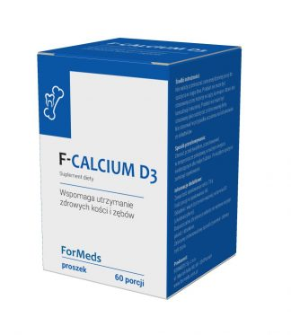 F-CALCIUM D3- zdrowe kości –ForMeds, 60porcji