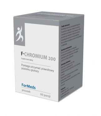 F-CHROMIUM 200- odchudzanie –ForMeds, 60porcji