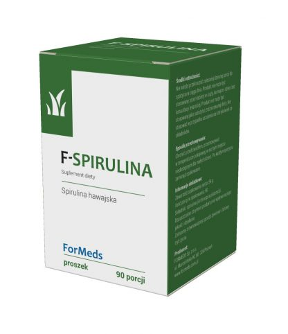 F-SPIRULINA –ForMeds, 90porcji