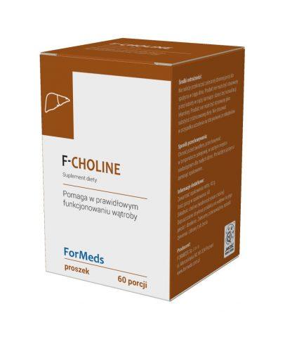 CHOLINA- zdrowa wątroba –ForMeds, 60porcji