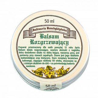 Balsam rozgrzewający –ProduktyBenedyktyńskie, 50ml –ProduktyBenedyktyńskie, 50ml