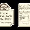 Syrop z czarnych porzeczek –Krokus, 300ml