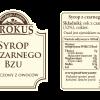 Syrop z czarnego bzu –Krokus, 300ml