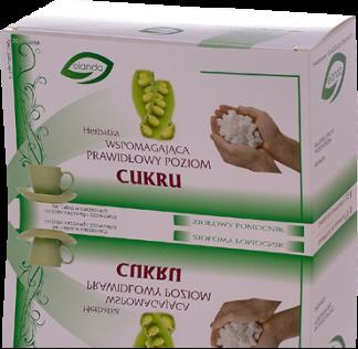 Herbatka wspomagająca prawidłowy poziom cukru –Elanda, 20saszetekpo1,5g