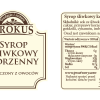 Syrop śliwkowy korzenny –Krokus, 300ml