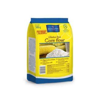 Mąka kukurydziana bezglutenowa –Bezgluten, 500g –Bezgluten, 500g