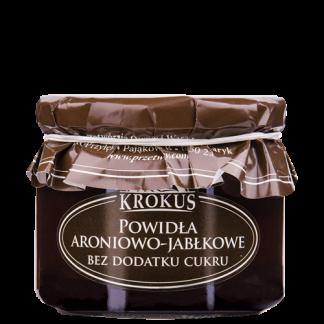Powidła aroniowo-jabłkowe bez dodatku cukru –Krokus, 310g –Krokus, 310g