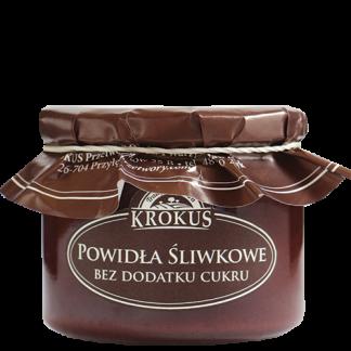 Powidła śliwkowe bez dodatku cukru –Krokus, 310g