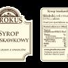 Syrop truskawkowy –Krokus, 300ml