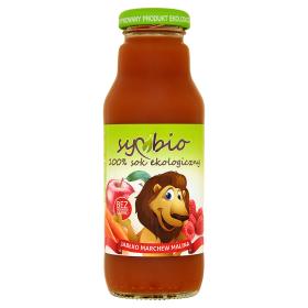 Sok jabłko-marchew-malina bez cukru eko –Symbio, 300ml –Symbio, 300ml