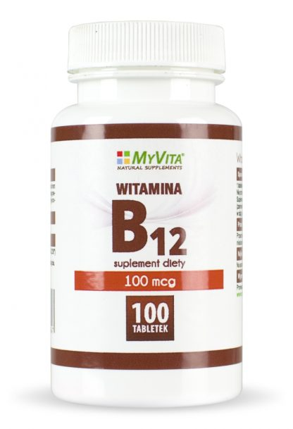 Witamina B12 100mcg –MyVita, 100tabletek