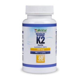 Witamina K2-MK7 + D3 Forte –MyVita, 60tabletek,120tabletek –MyVita, 60tabletek,120tabletek