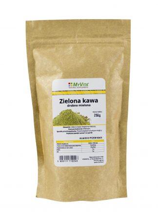 Zielona kawa mielona –MyVita, 250g –MyVita, 250g
