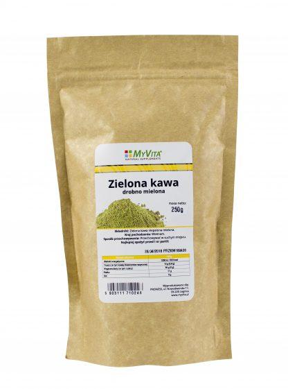 Zielona kawa mielona –MyVita, 250g