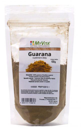 Guarana proszek –MyVita, 100g –MyVita, 100g