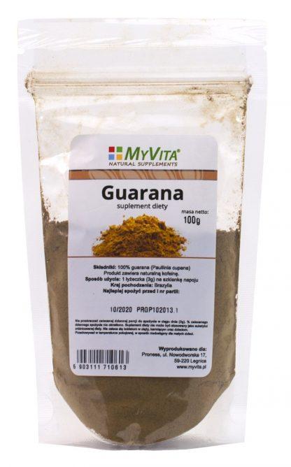 Guarana proszek –MyVita, 100g