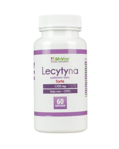Lecytyna forte 1200 mg –MyVita, 60tabletek