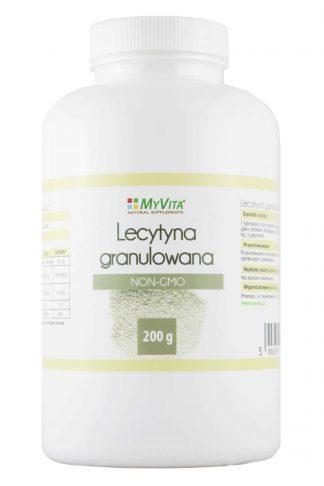 Lecytyna granulowana NON-GMO –MyVita, 200g –MyVita, 200g
