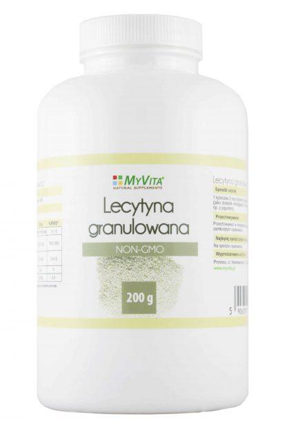 Lecytyna granulowana NON-GMO –MyVita, 200g