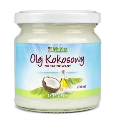Olej kokosowy nierafinowany –MyVita, 200ml,500ml