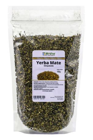 Yerba mate despalda- naturalnie pobudza –MyVita, 100g –MyVita, 100g