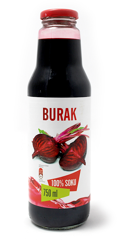 Sok z buraka 100% bez cukru – Look Food, 750 ml