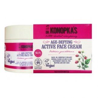 Aktywny krem przeciwzmarszczkowy –Dr.Konopka's, 50ml