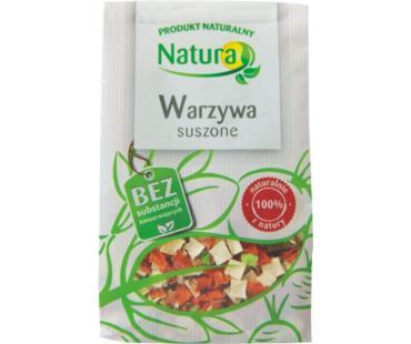 Warzywa suszone –Natura, 80g