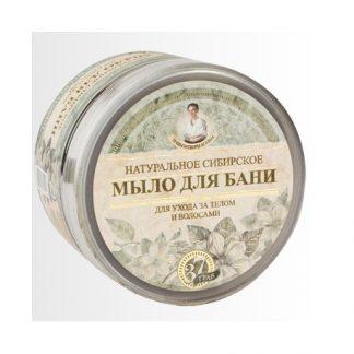 Ziołowe czarne mydło- do mycia ciała oraz włosów- 37 ziół –Agafii, 500ml –Agafii, 500ml