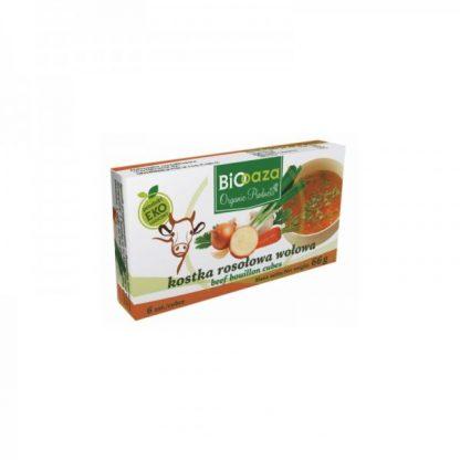 Kostka rosołowa wołowa –Biooaza, 66g