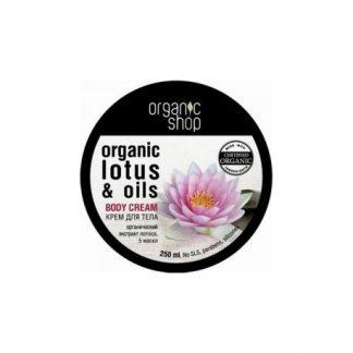Krem do ciała Indyjski Lotos –OrganicShop, 250ml –OrganicShop, 250ml