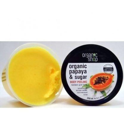 Peeling do ciała soczysta papaja –OrganicShop, 250ml