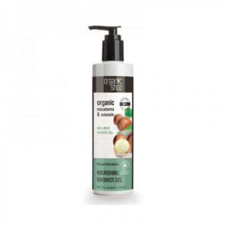 Żel pod prysznic odżywczy- kenijskie orzechy makadamia –OrganicShop, 280ml –OrganicShop, 280ml