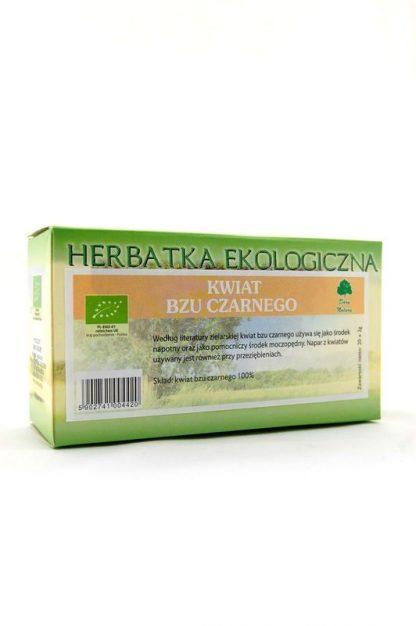 Bez czarny- kwiat- herbatka ekspresowa eko –DaryNatury, 40g