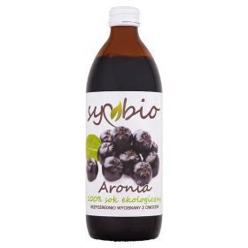 Sok z aronii 100% ekologiczny –Symbio, 500ml
