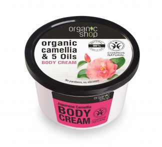 Krem do ciała japońska kamelia –OrganicShop, 250ml –OrganicShop, 250ml