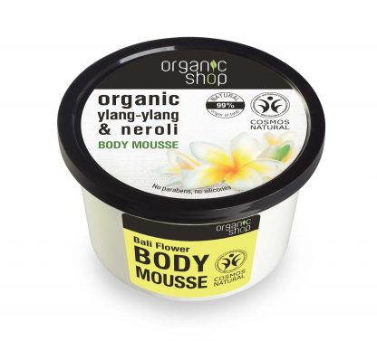 Mus do ciała ylang-ylang & neroli –OrganicShop, 250ml