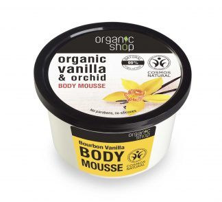 Mus do ciała burbońska wanilia –OrganicShop, 250ml –OrganicShop, 250ml