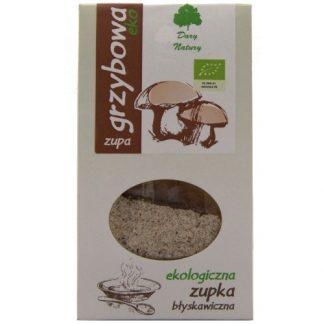 Zupka błyskawiczna naturalna- grzybowa –DaryNatury, 30g –DaryNatury, 30g