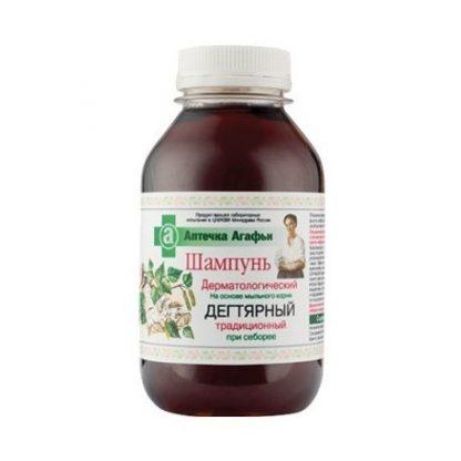 Dermatologiczny szampon dziegciowy- łuszczyca, łupież –PervoeReshenie, 300ml