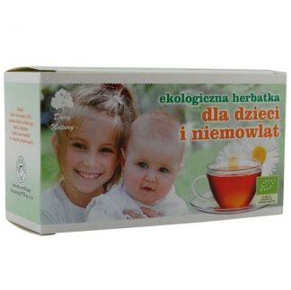 Herbatka ekspresowa dla dzieci i niemowląt Eko –DaryNatury, 40g –DaryNatury, 40g