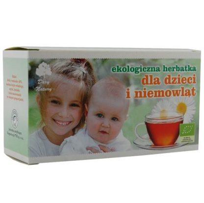 Herbatka ekspresowa dla dzieci i niemowląt Eko –DaryNatury, 40g