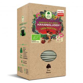 Herbatka ekspresowa eko dla dzieci -krasnoludek –DaryNatury, 50g