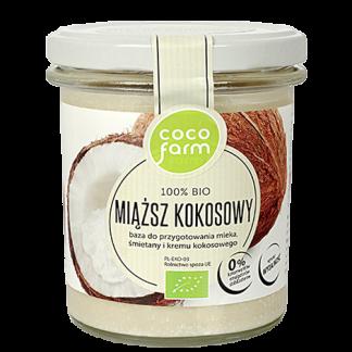 Miąższ kokosowy 100% Bio –CocoFarm, 280g