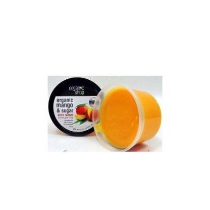 Scrub do ciała kenijskie mango –OrganicShop, 250ml