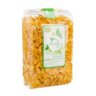 Płatki kukurydziane (bez cukru) BIO –BioLife, 200g –BioLife, 200g