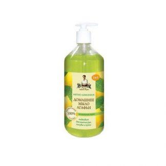 Domowe mydło do rąk w płynie -mięta & cytryna –Agafii, 1l –Agafii, 1l