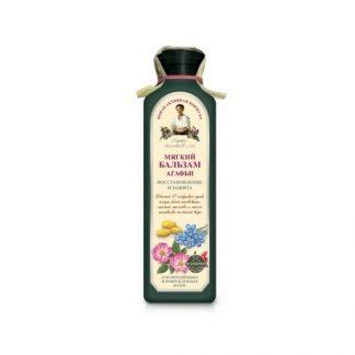 Miękki ziołowy balsam do włosów farbowanych i zniszczonych –Agafii, 350ml